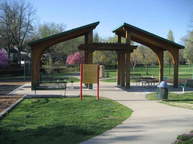Covered Park Shelters : Porter park in prairie village ks reviewed by moms